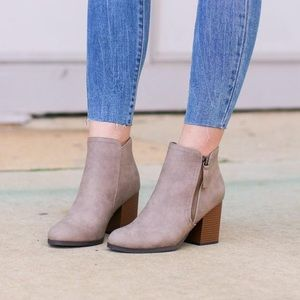 NEW IN BOX - Nob Hill ankle booties